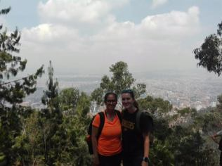 Daissy and I at the top!