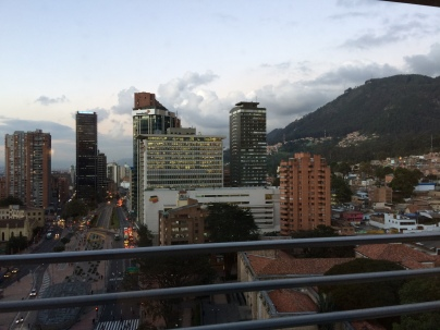 View of the city from our hotel