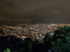 We got to see the night view too