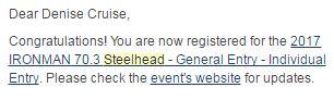 Steelhead confirmation